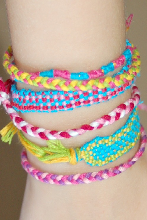 Make a Friendship Bracelet Loom with this Pattern!