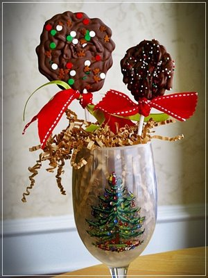 Chocolate Lollipops
