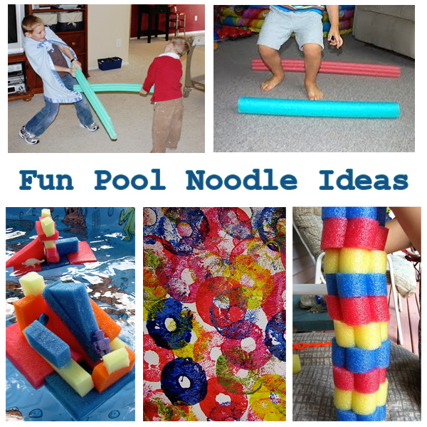 pool noodle play ideas