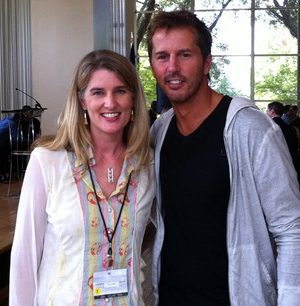 Mike Modano and Holly Homer