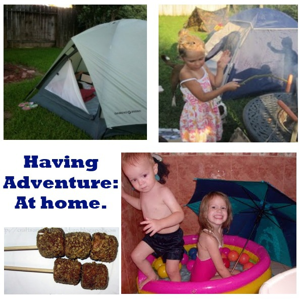 Camping Adventure: At Home