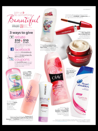 Breast cancer P & G