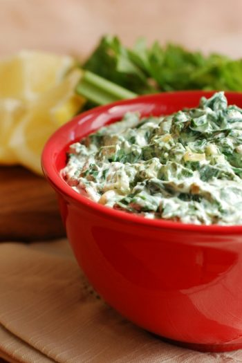 The Easiest Spinach Artichoke Dip Recipe