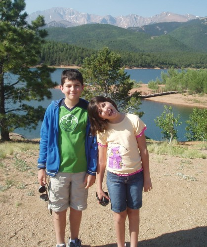On the road to Pike's Peak