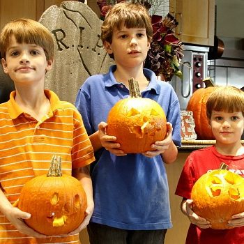 pumpkin carving kids