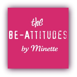 the BEattitudes by Minette