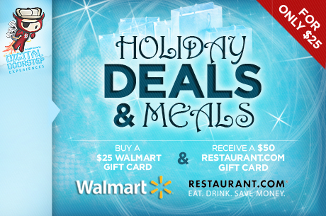 save on walmart and restaurant dot come