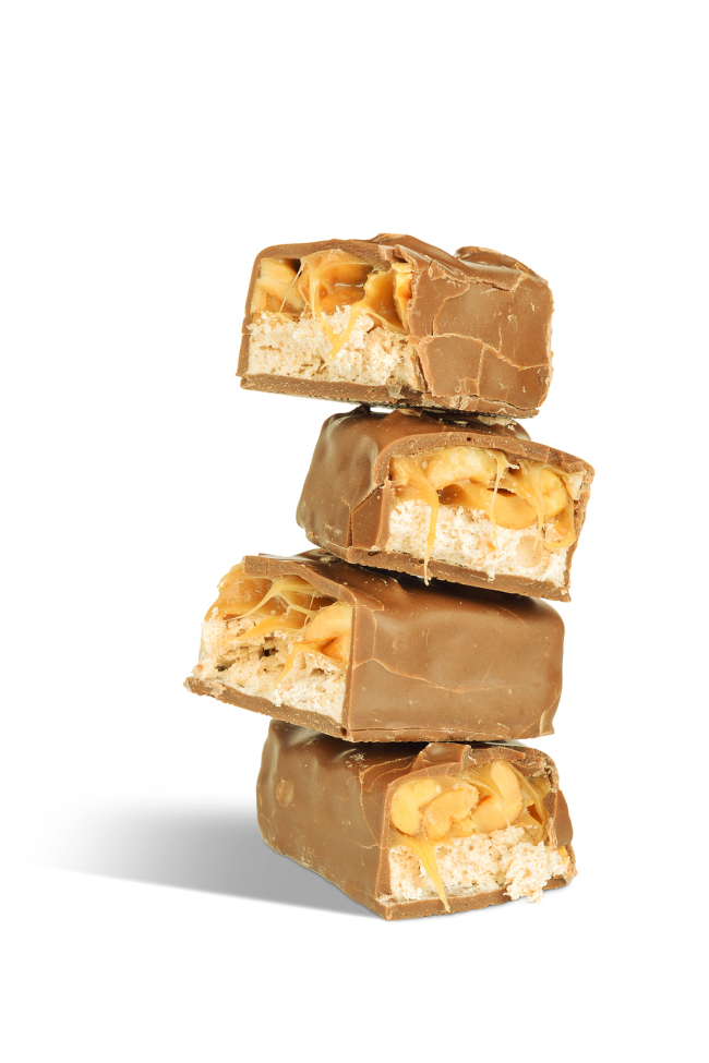 Yummy Snickers Blondies Recipe – Great for leftover candy!
