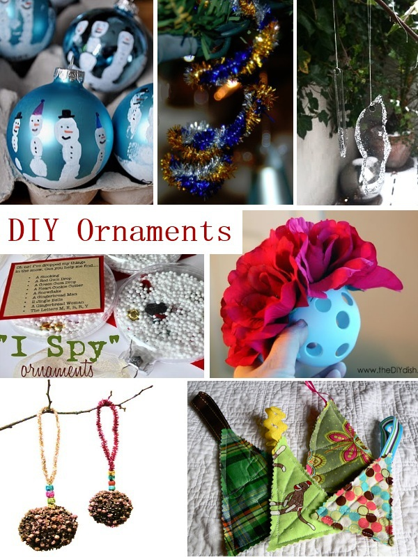 do it yourself Christmas ornaments