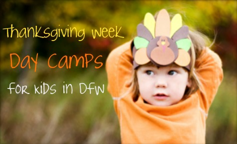 thanksgiving week day camps