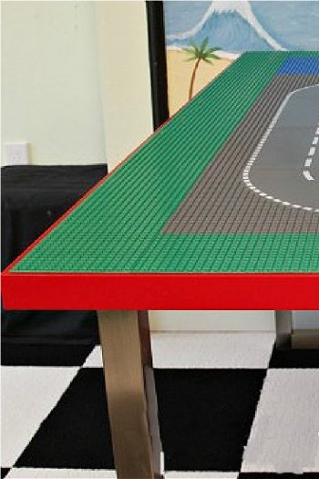 How to Make a LEGO Table out of IKEA Table for Older Kids