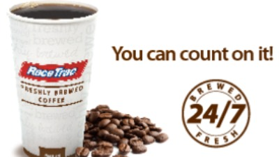 Race Trac Free Coffee