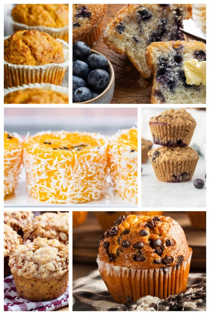 I heart muffins - 12 best muffin recipes from Kids Activities Blog - variety of muffin types pictured