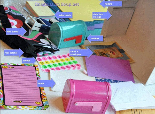 post office play supplies