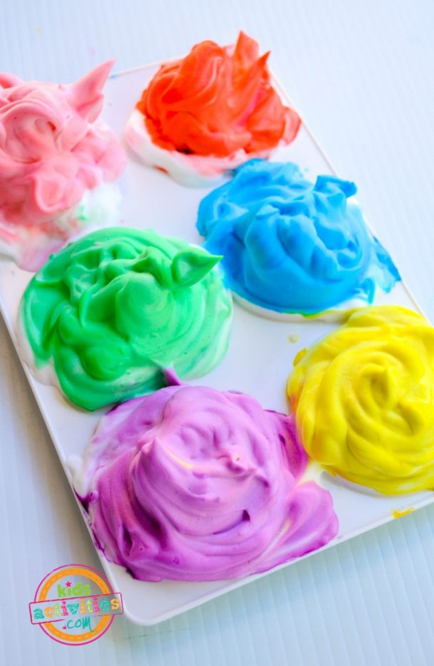 Bathtub Paint kids activities craft paint