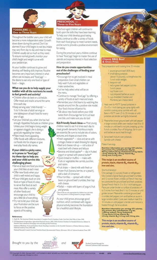 TX Beef Childhood nutrition pg 2