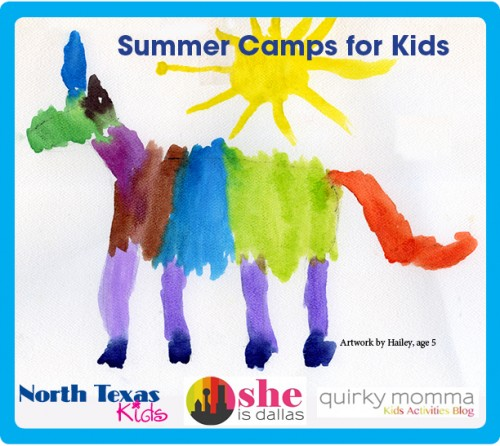 Summer Camp list in Dallas Fort Worth