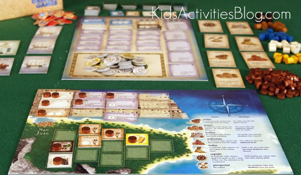 puerto rico board game board