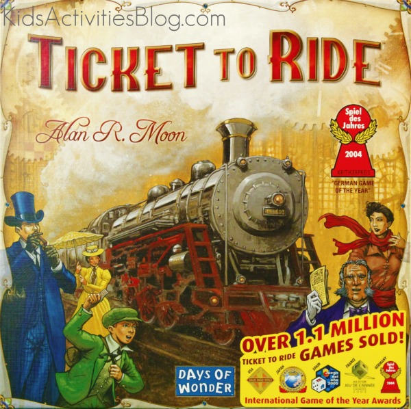 ticket to ride board game box