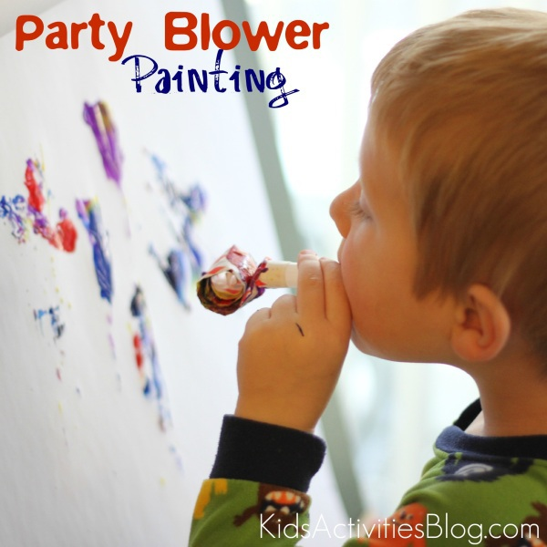 Things to Paint With: A Party Blower