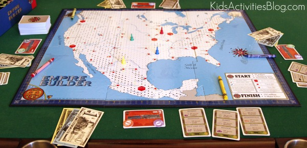 Empire Builder Board Game Board