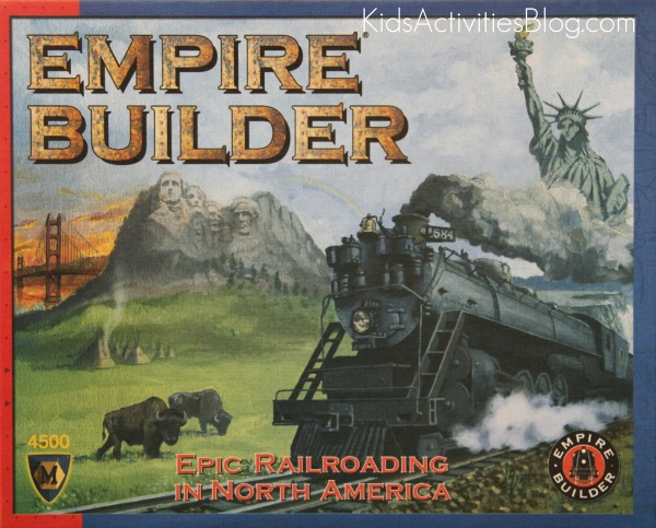Empire Builder Board Game Box