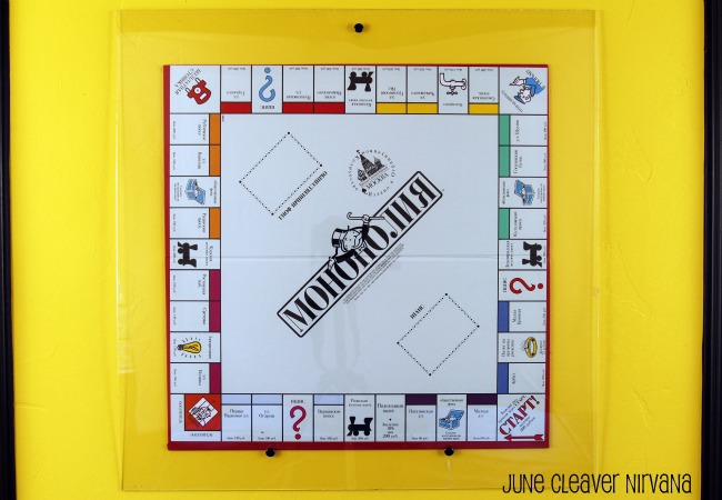 framing monopoly on yellow