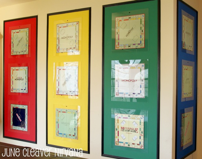 framing monopoly color panels
