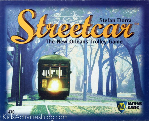 Streetcar Board Game Box