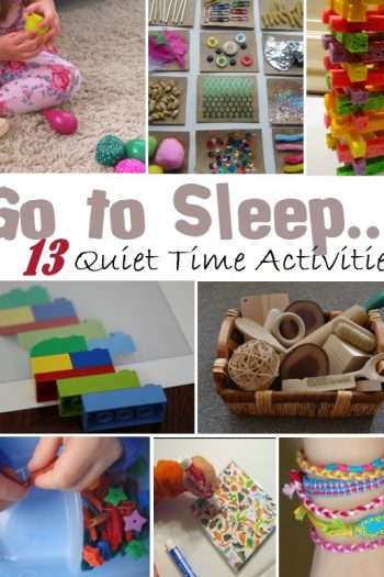 Go to sleep kids activities