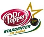 Dr Pepper Star Center logo Dallas Fort Worth