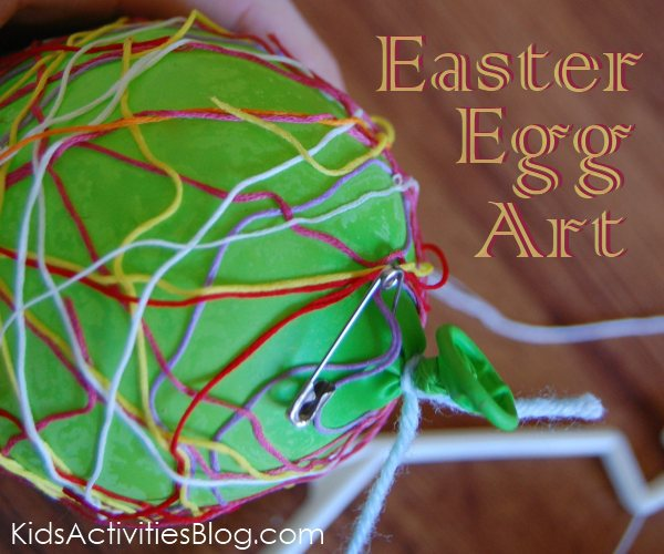 easter egg art