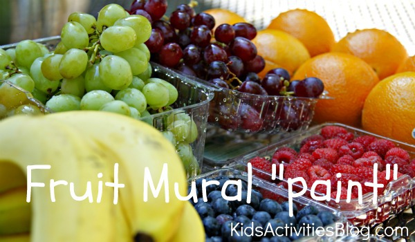fruit mural paint