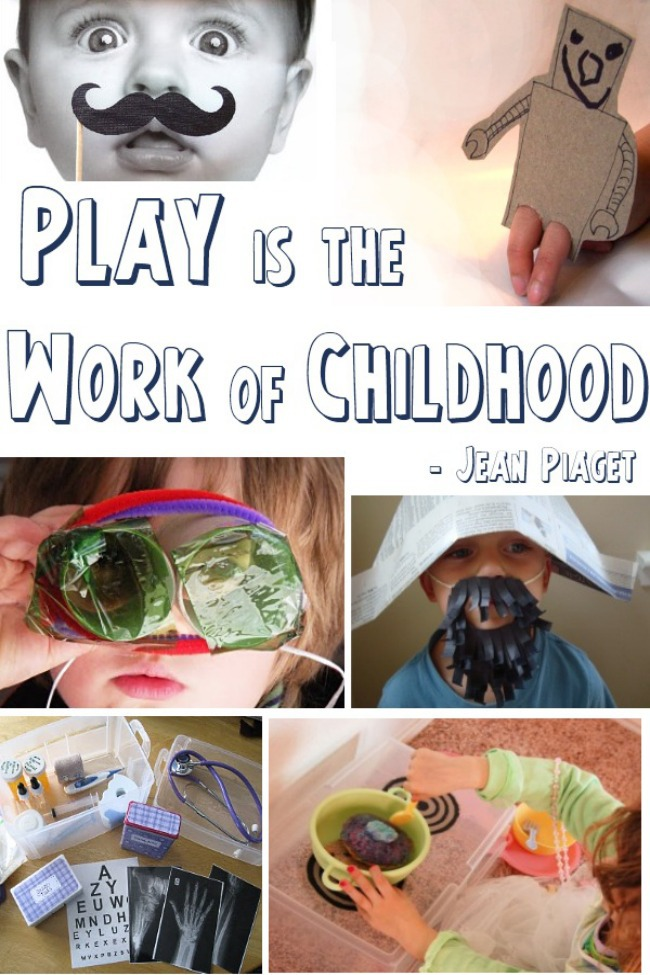 Dramatic Play: Inspired by Piaget