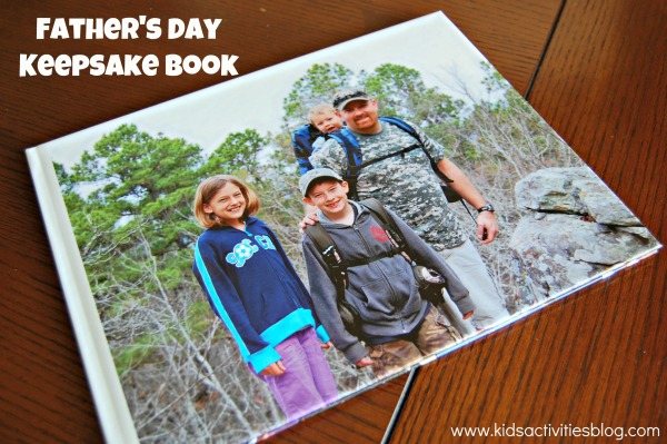 Father's Day Keepsake Book