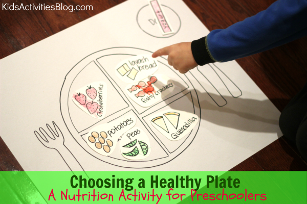 Choosing a Healthy Plate: A Nutrition Activity for Preschoolers
