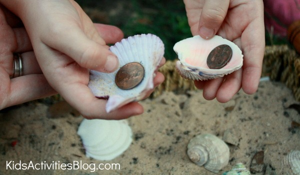 hidden objects in shells