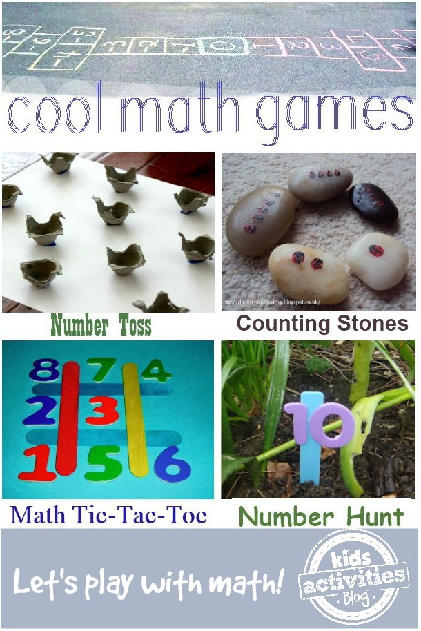 12 Cool Math Games for Kids that You Can Make & Play