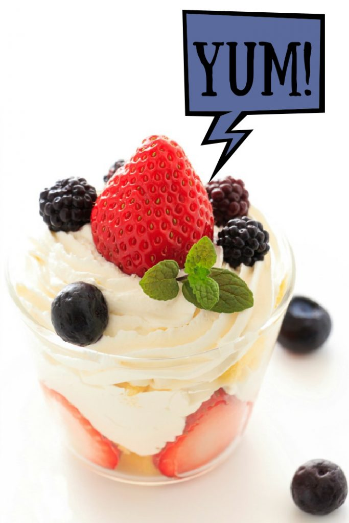 Fourth of July Dessert Trifle Kids Can Make - Kids Activities Blog yum