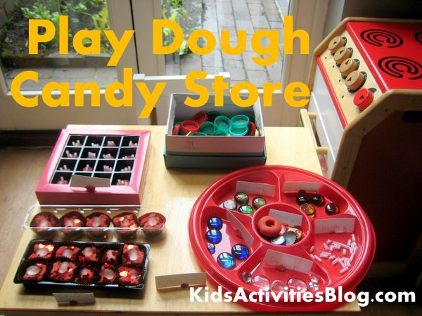 Play Dough Candy Store
