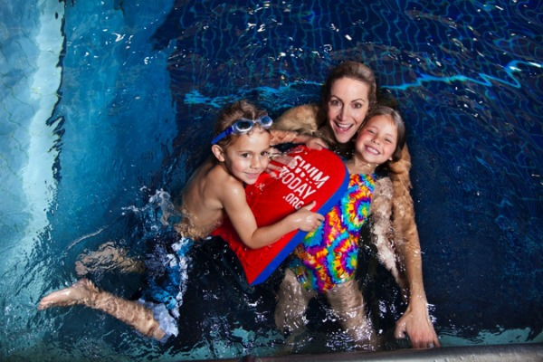 USA Swimming mom and kids