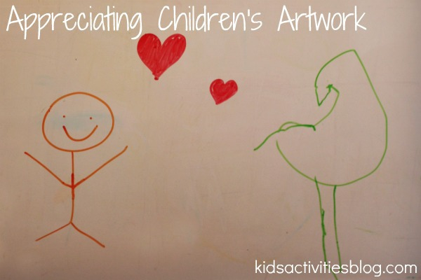 appreciating childrens art