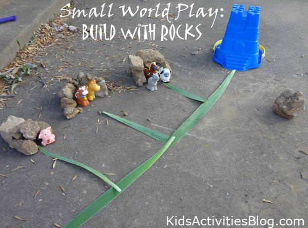 Small World Play Build With Rocks