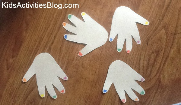 hand cut outs