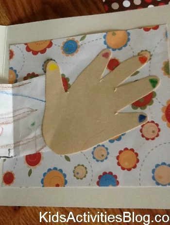 hand shape on card
