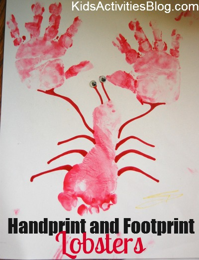 handprint and footprint lobsters