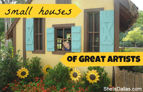 small houses of great artists