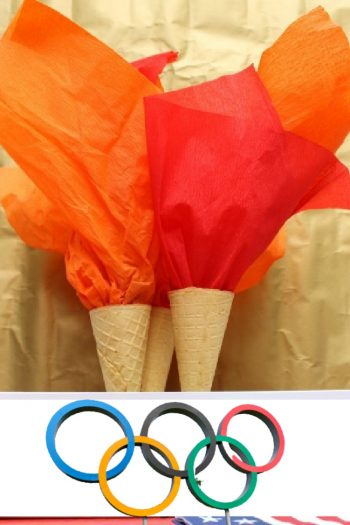Edible Olympic Torches from Kids Activities Blog - feature