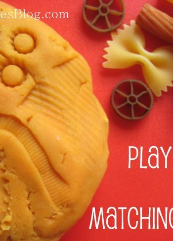play dough matching game