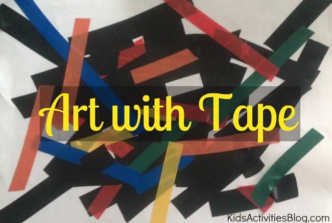 art with tape